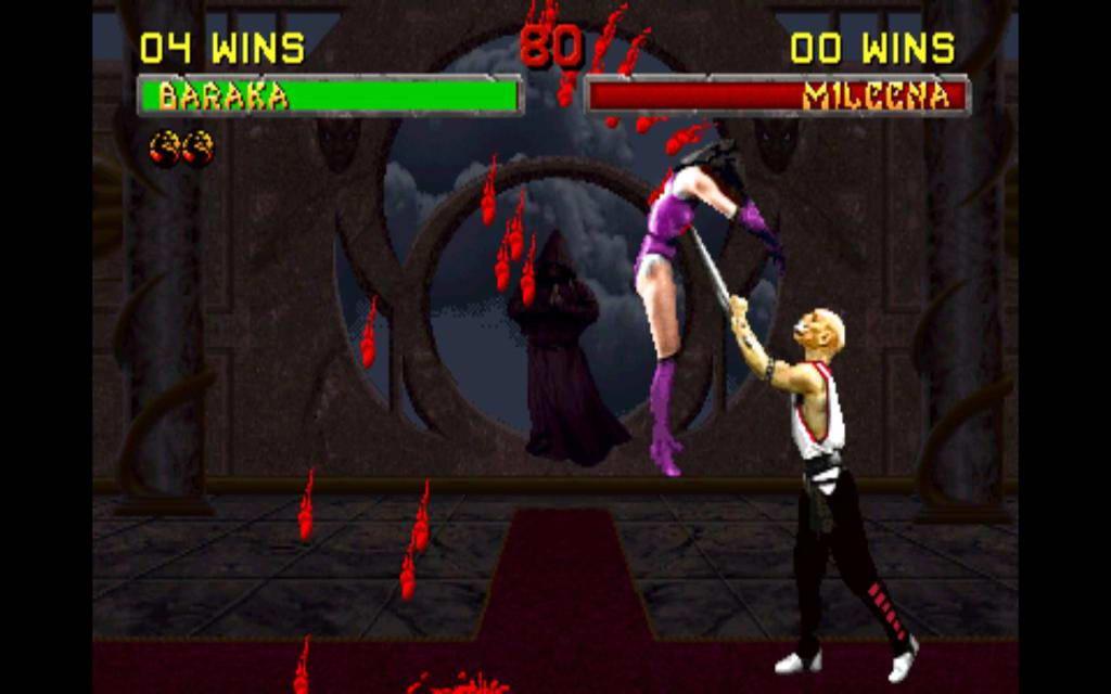 Скриншот Mortal Kombat II