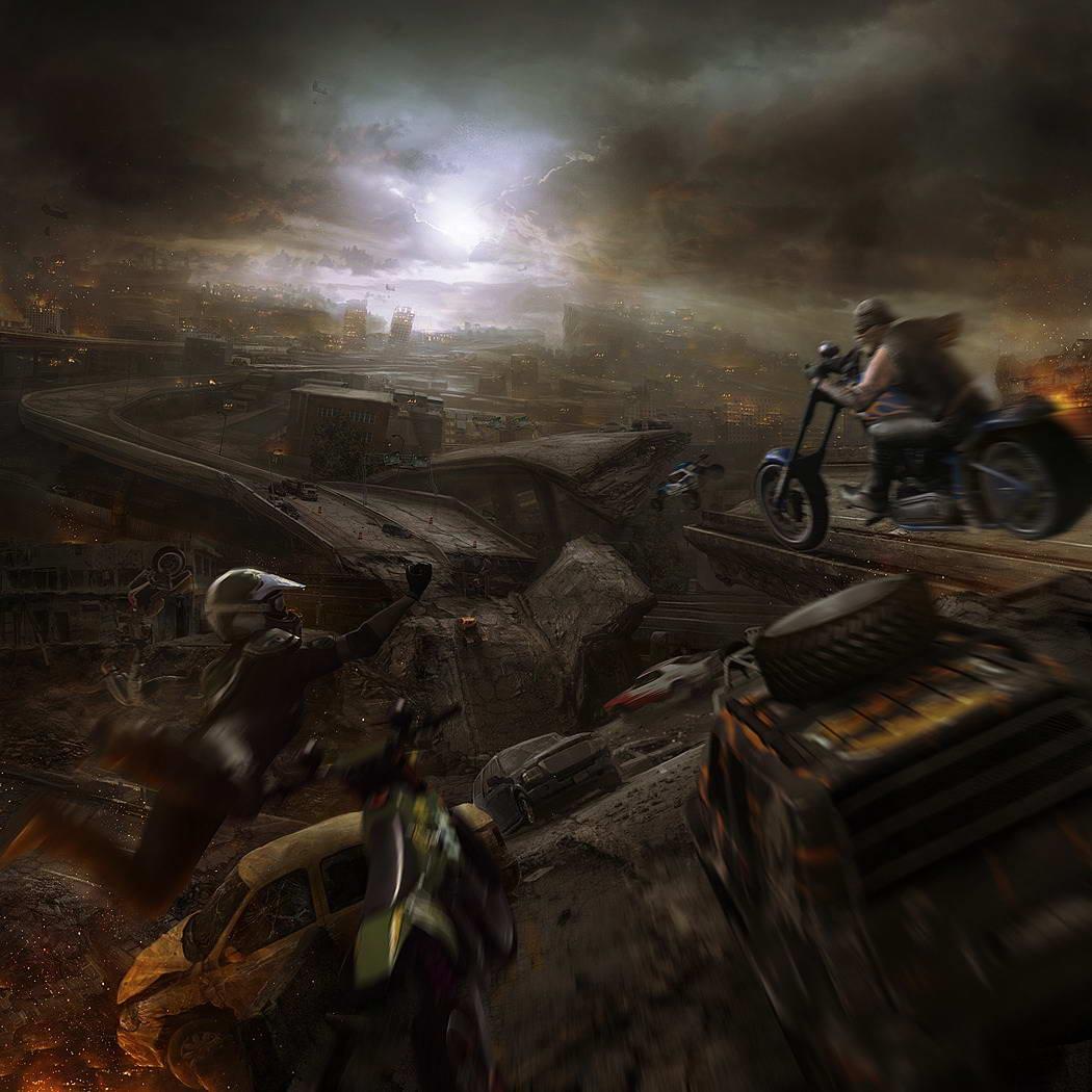 Арт MotorStorm Apocalypse