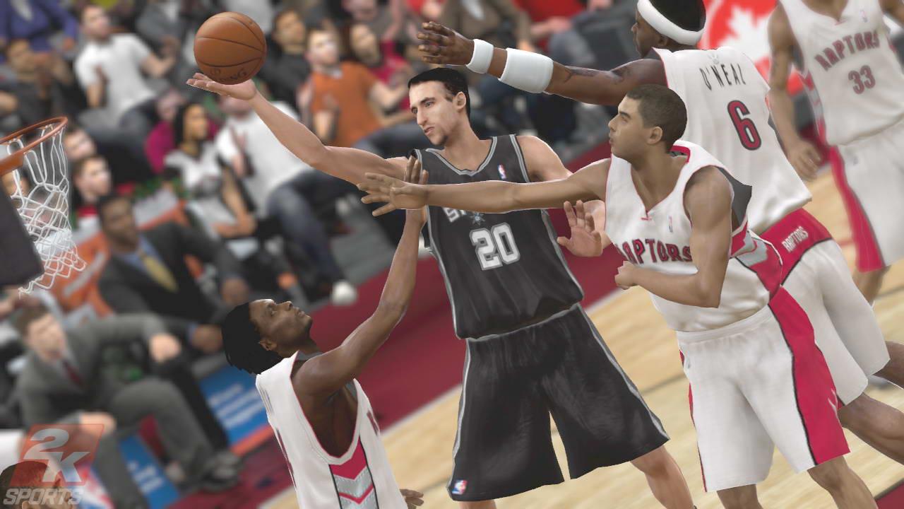 Скриншот NBA 2K9