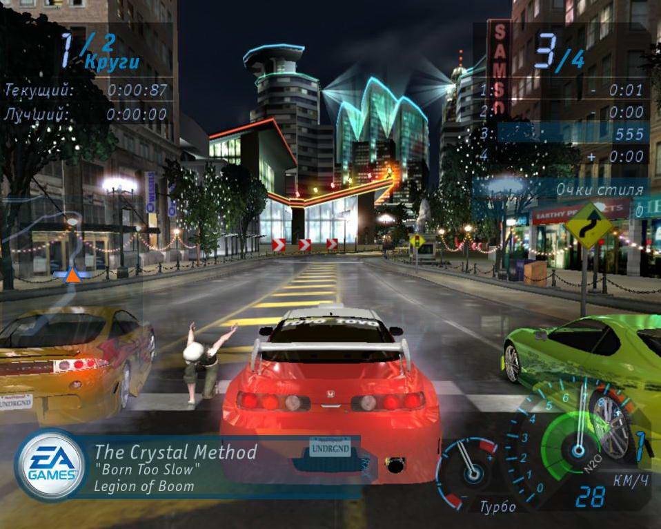 Скриншот Need for Speed Underground