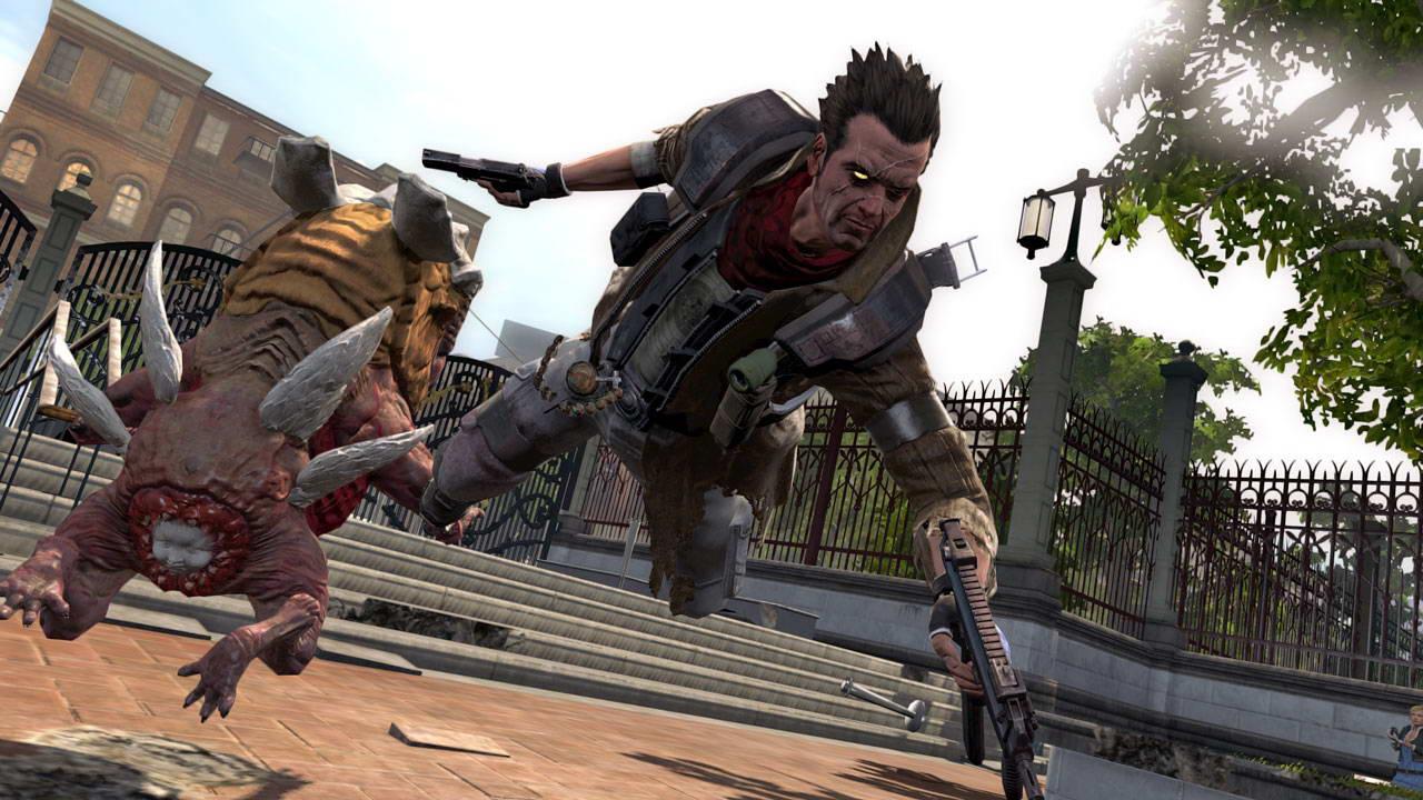 Скриншот NeverDead