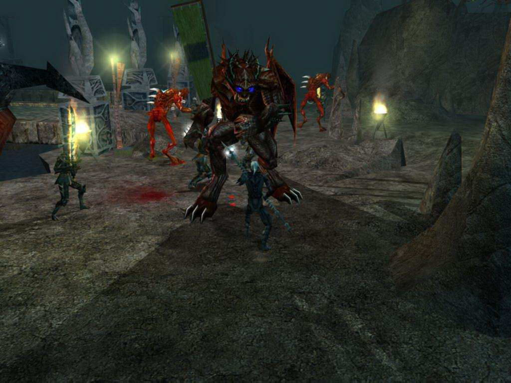 Скриншот Neverwinter Nights: Hordes of the Underdark