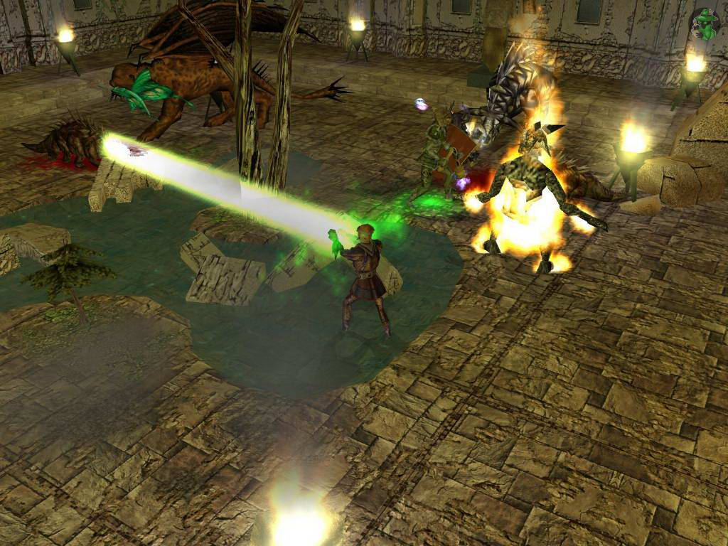 Скриншот Neverwinter Nights: Shadows of Undrentide