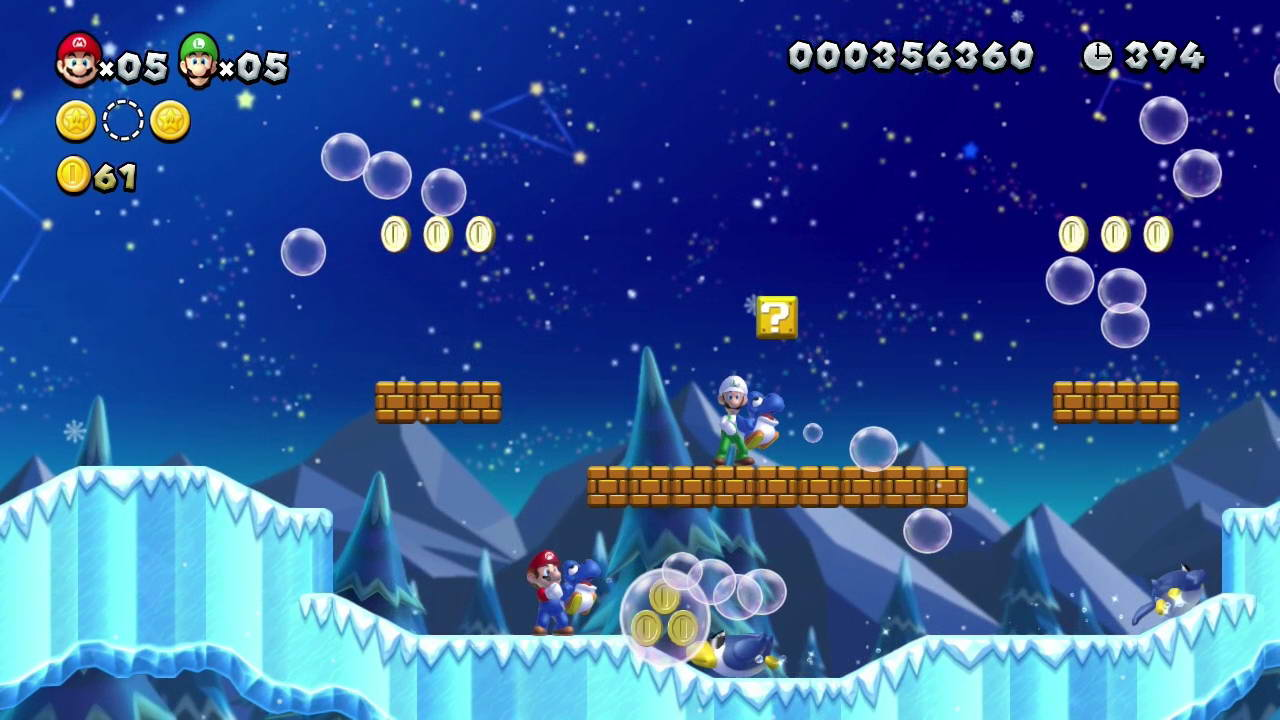 Скриншот New Super Mario Bros. U