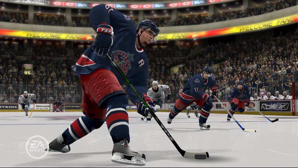 Скриншот NHL 07