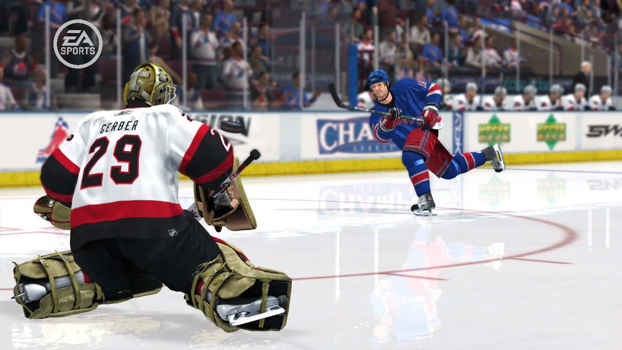 Скриншот NHL 08