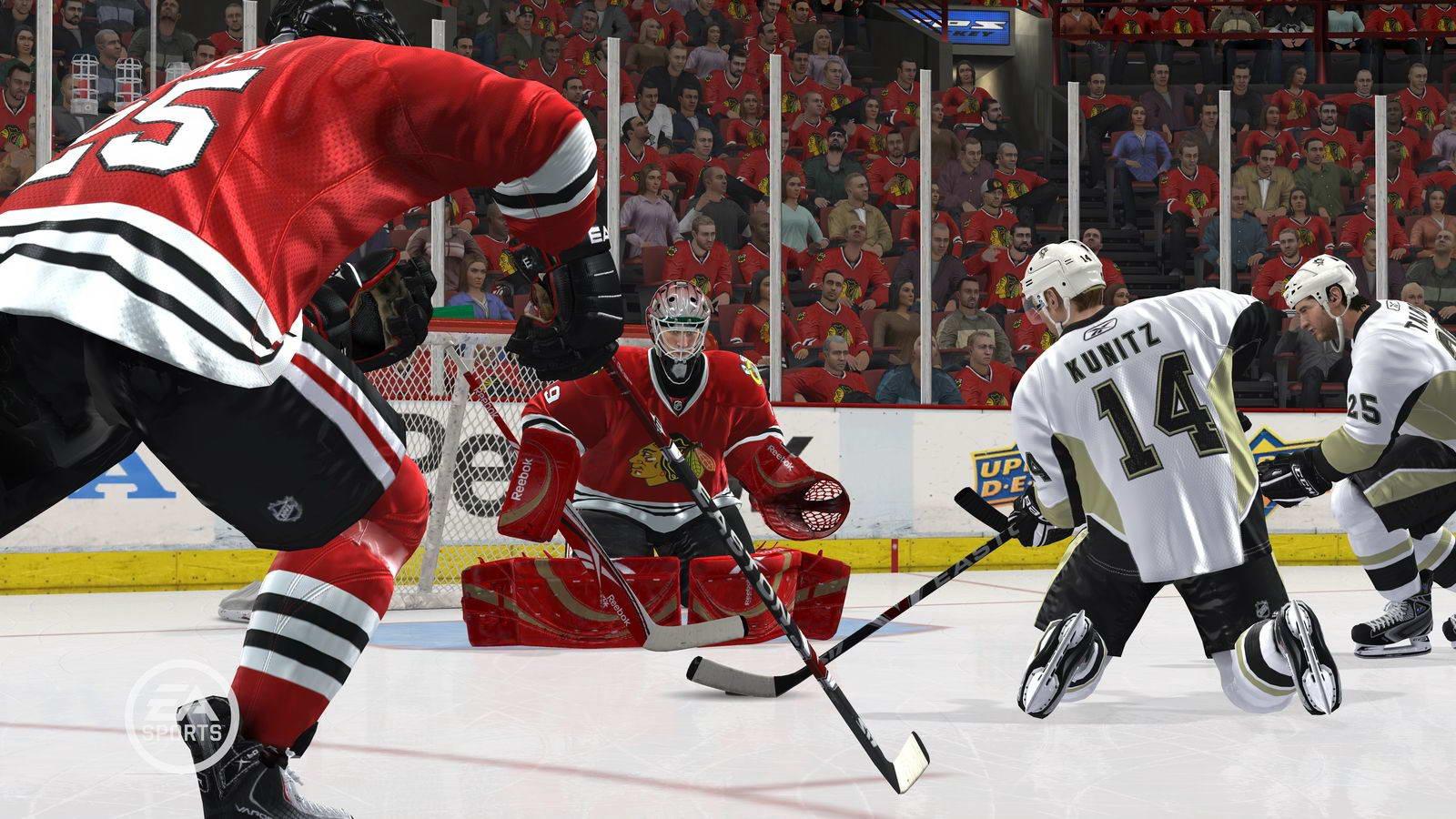 Скриншот NHL 2K10