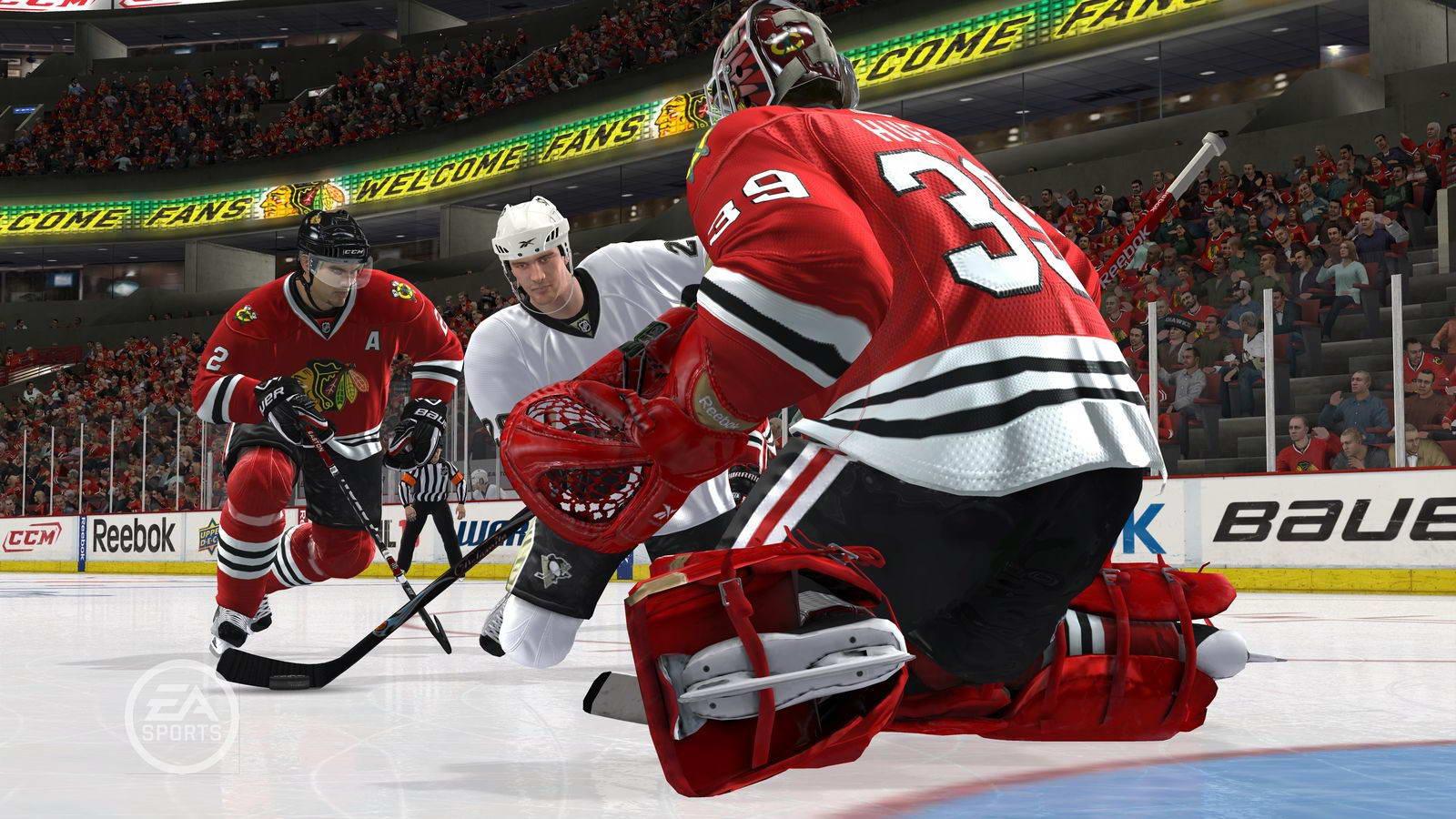 Скриншот NHL 10