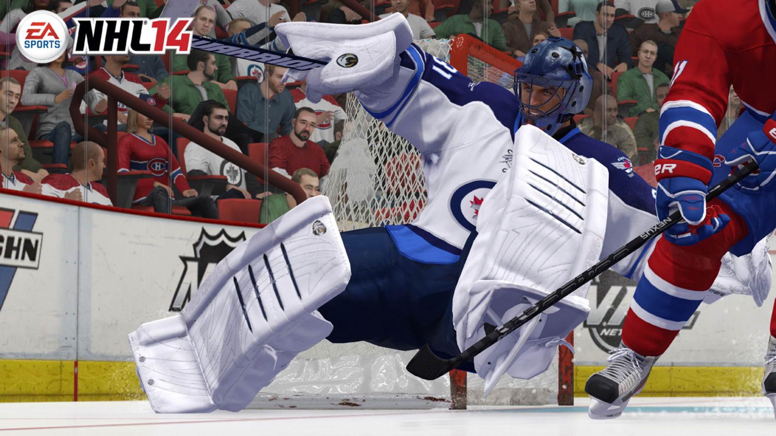 Скриншот NHL 14