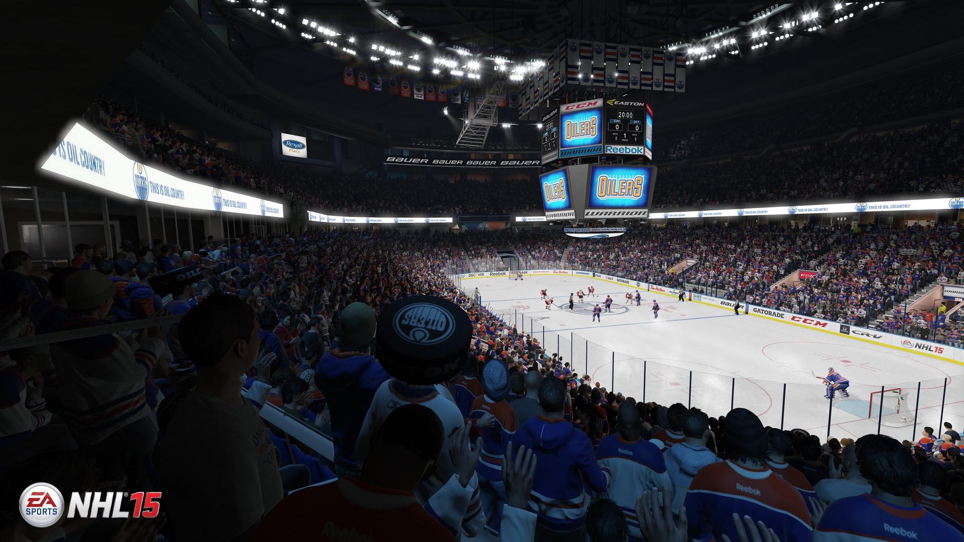 Скриншот NHL 15