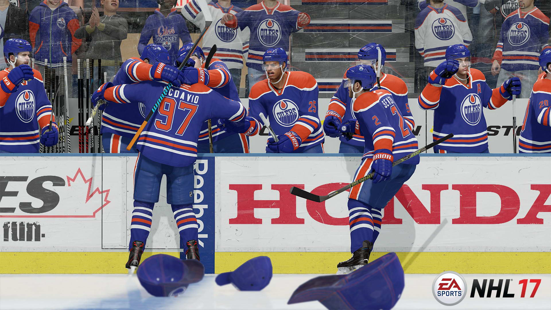 Скриншот NHL 17