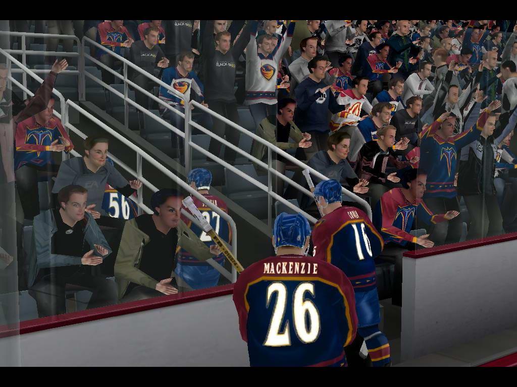 Скриншот NHL 2004
