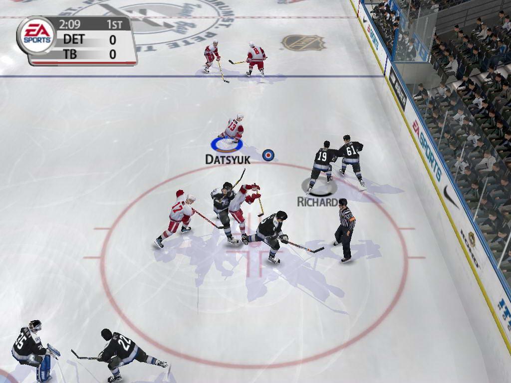 Скриншот NHL 2005