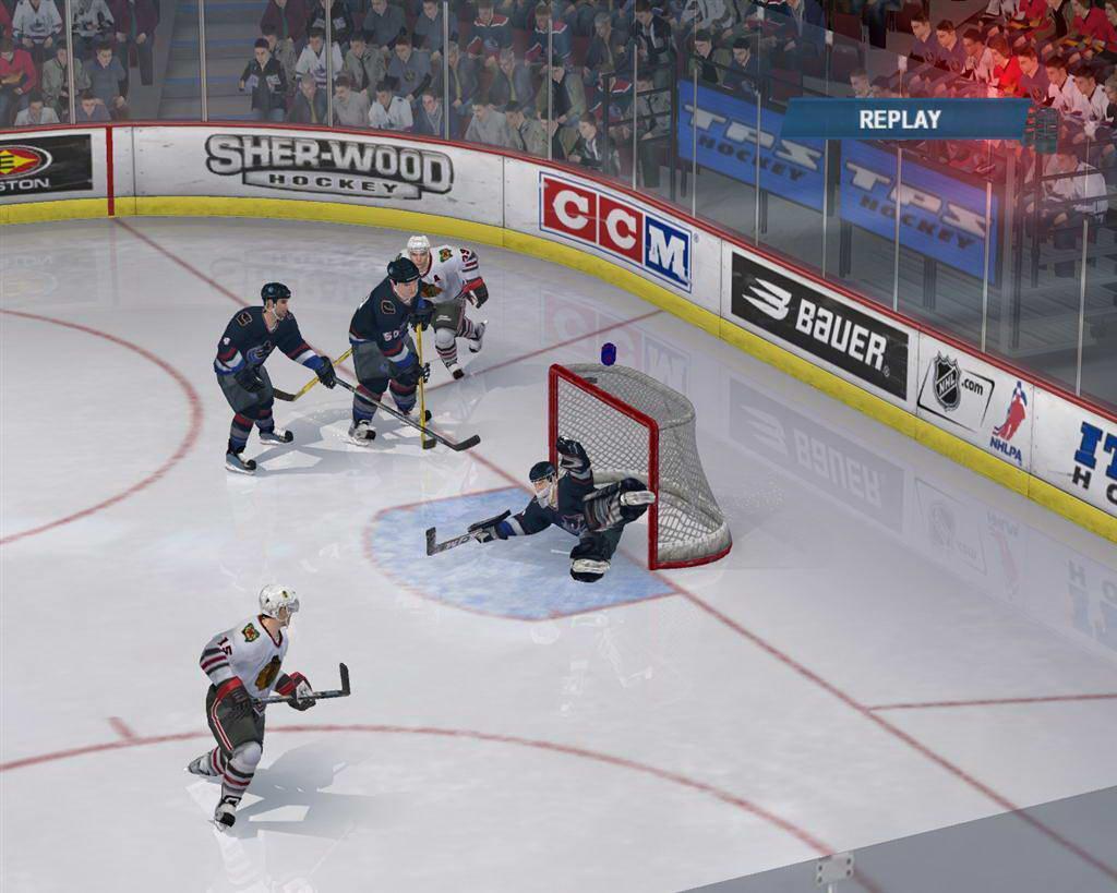 Скриншот NHL 2006