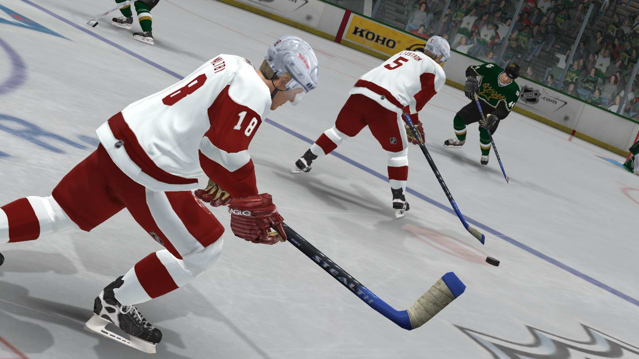 Скриншот NHL 2K7