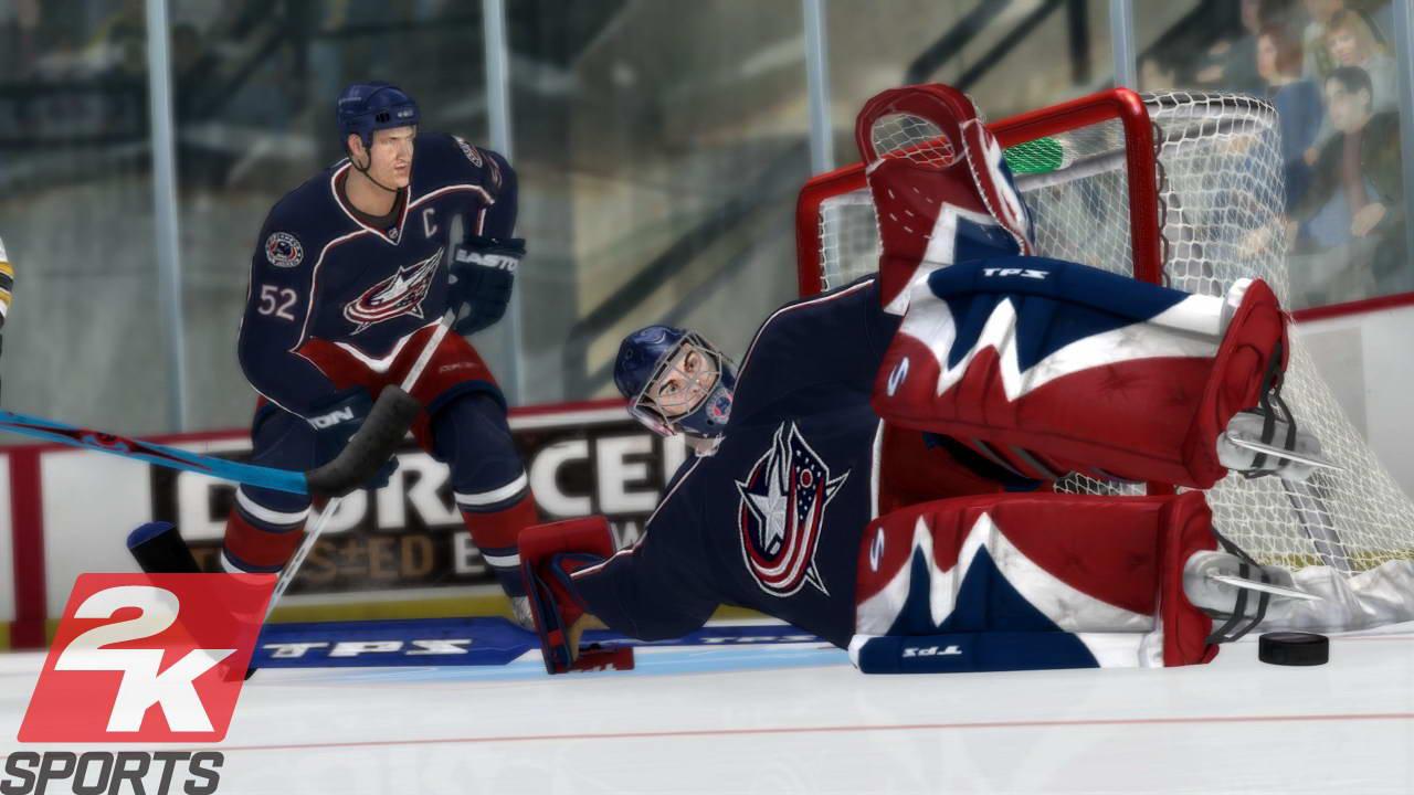 Скриншот NHL 2K8