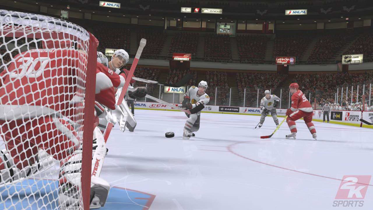 Скриншот NHL 2K9