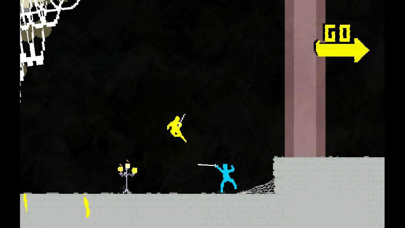 Скриншот Nidhogg