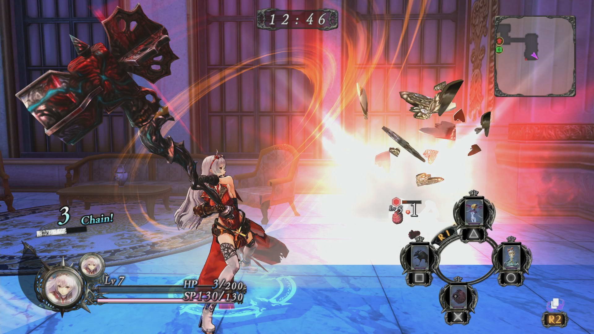 Скриншот Nights of Azure