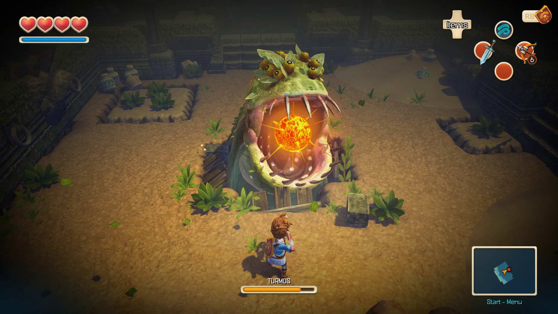 Скриншот Oceanhorn: Monster of Uncharted Seas