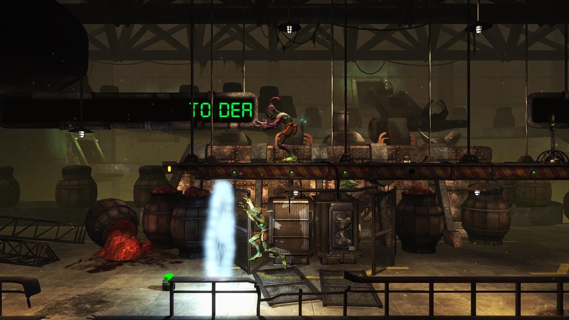 Скриншот Oddworld: New 'n' Tasty!