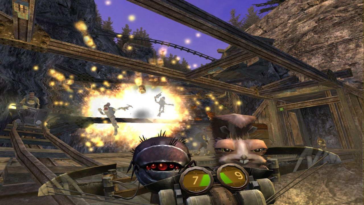 Скриншот Oddworld: Stranger's Wrath HD