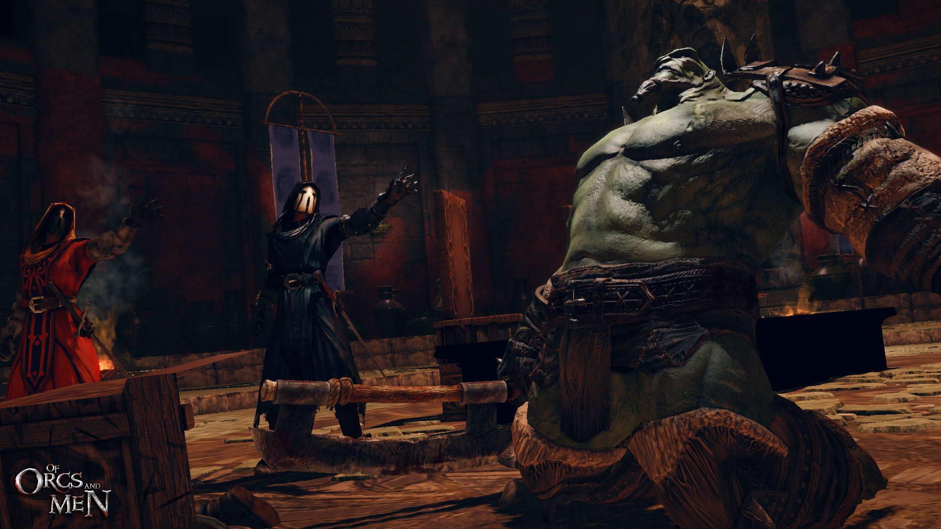 Скриншот Of Orcs and Men
