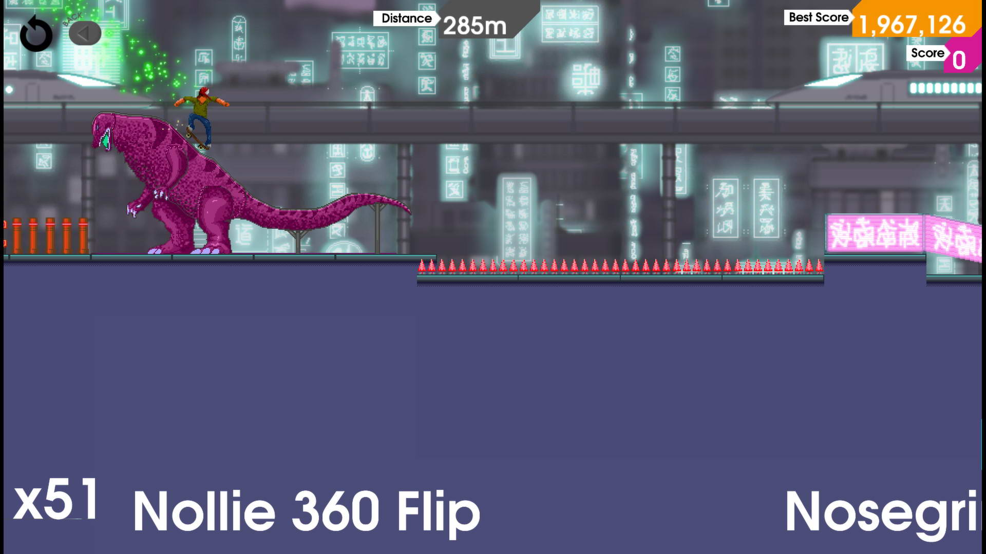 Скриншот OlliOlli