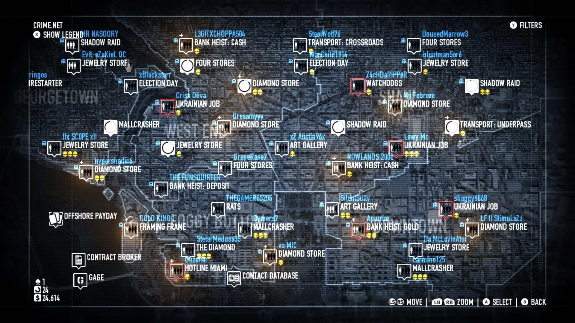 Скриншот Payday 2: Crimewave Edition