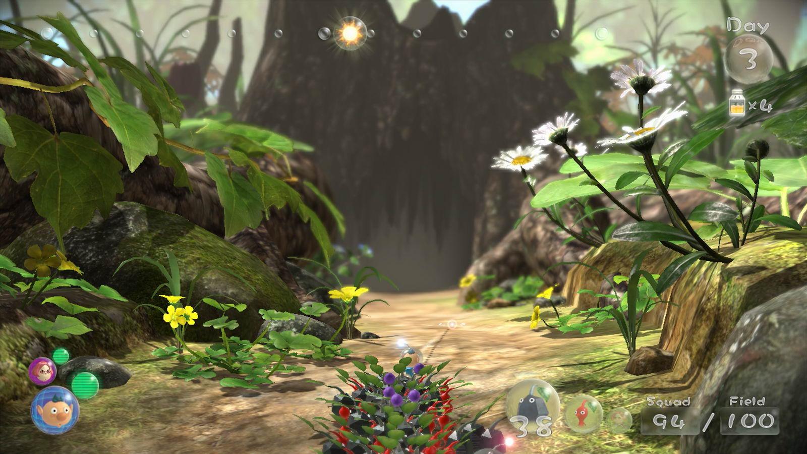 Скриншот Pikmin 3