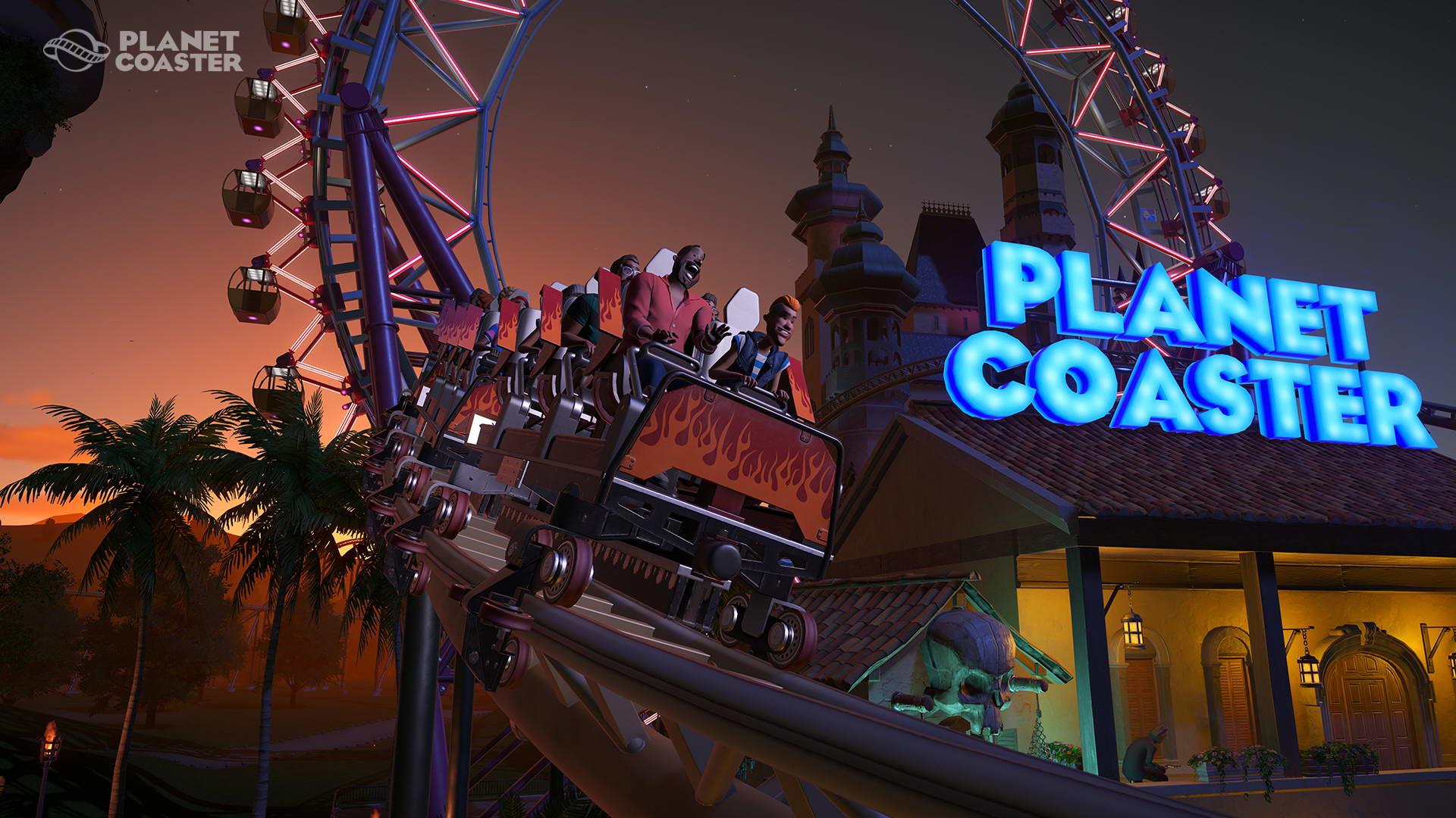 Скриншот Planet Coaster