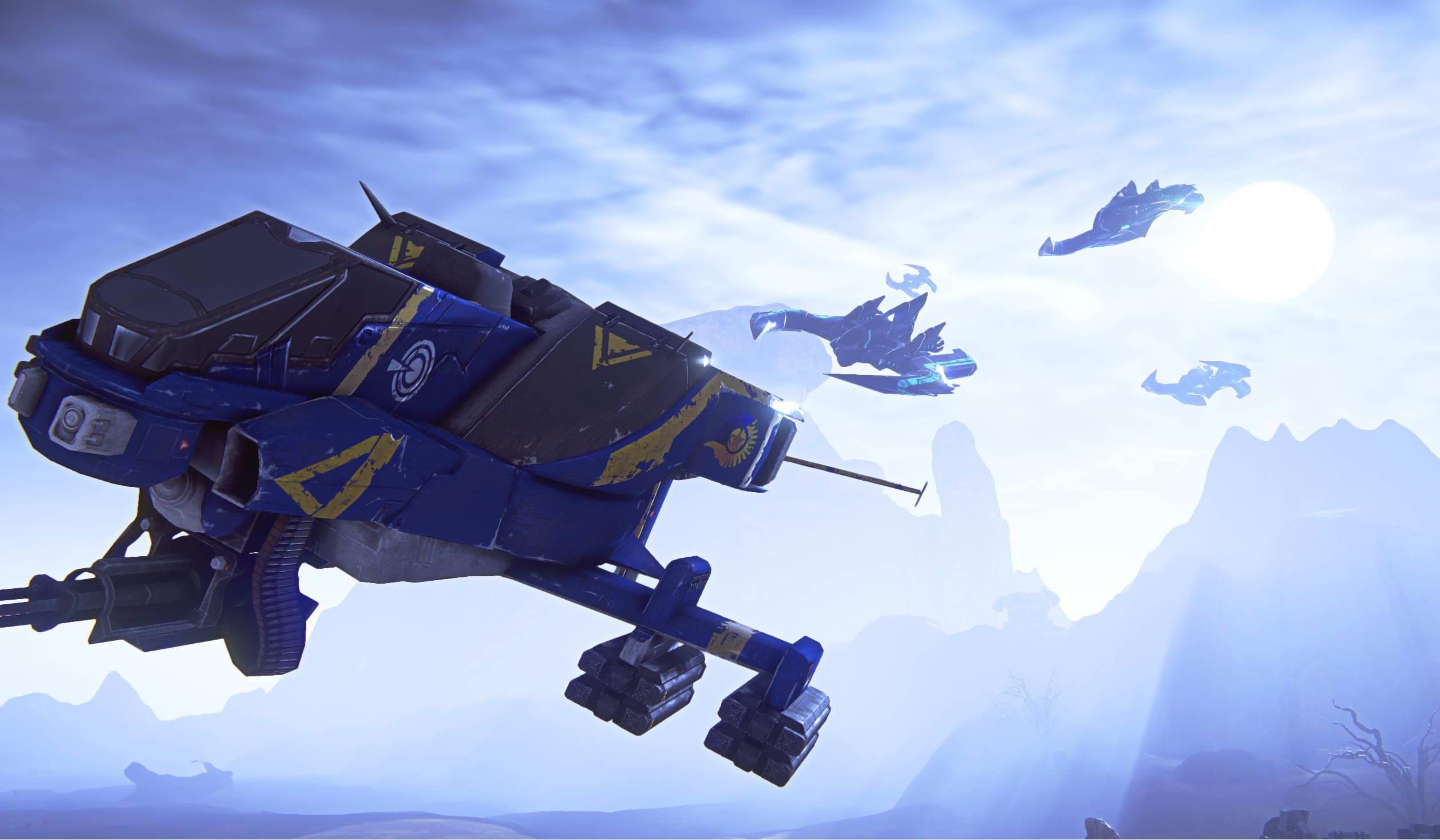 Скриншот Planetside 2