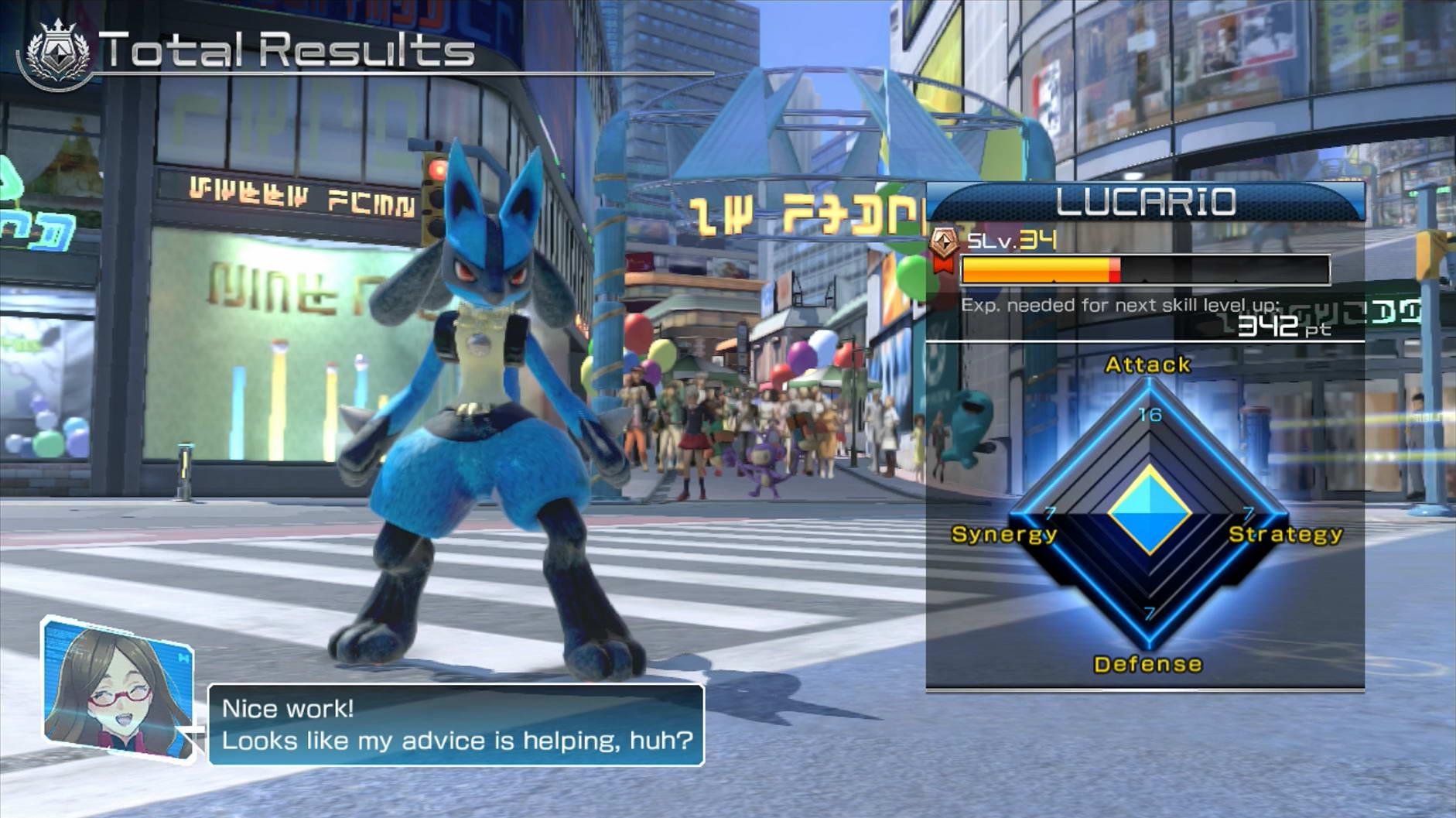 Скриншот Pokken Tournament