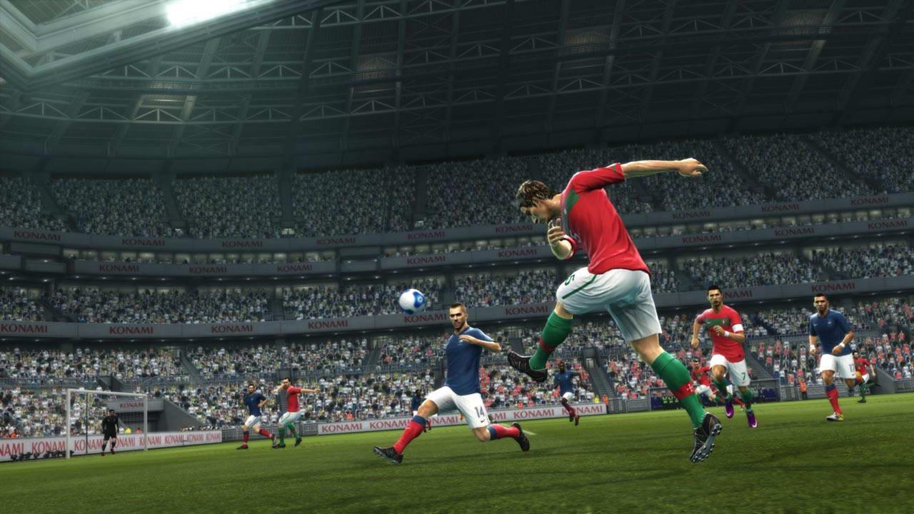 Скриншот Pro Evolution Soccer 2012