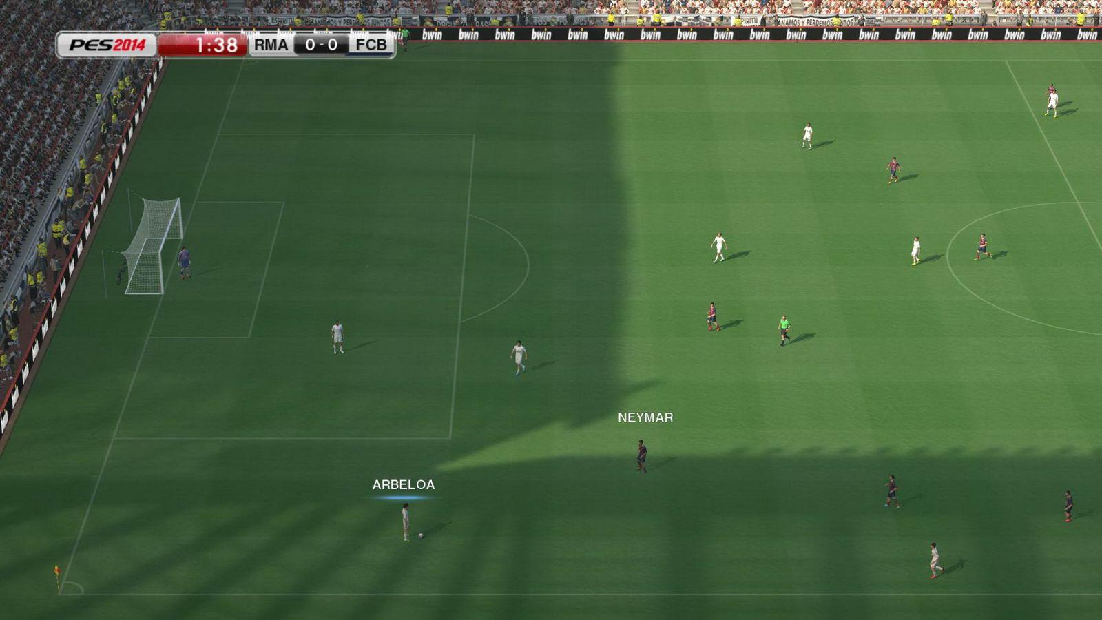 Скриншот Pro Evolution Soccer 2014