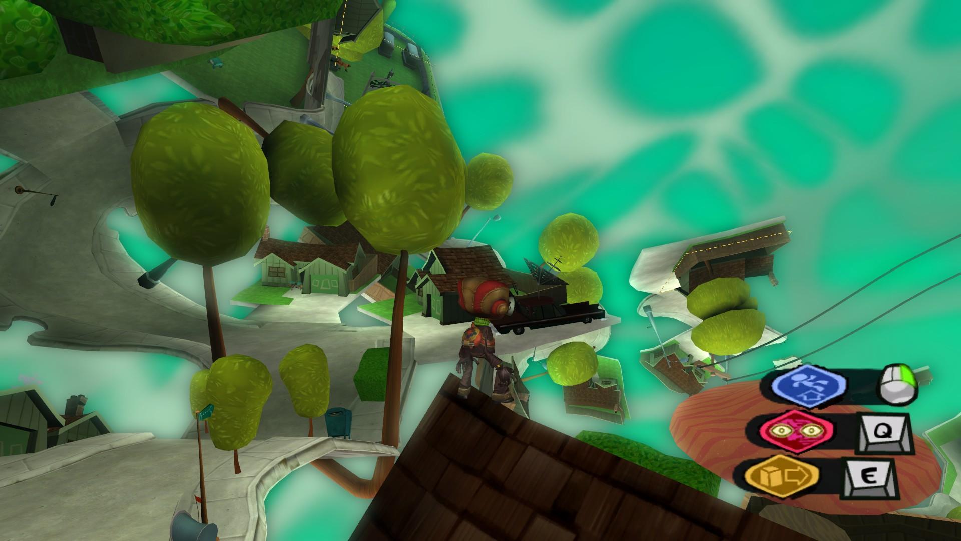 Скриншот Psychonauts