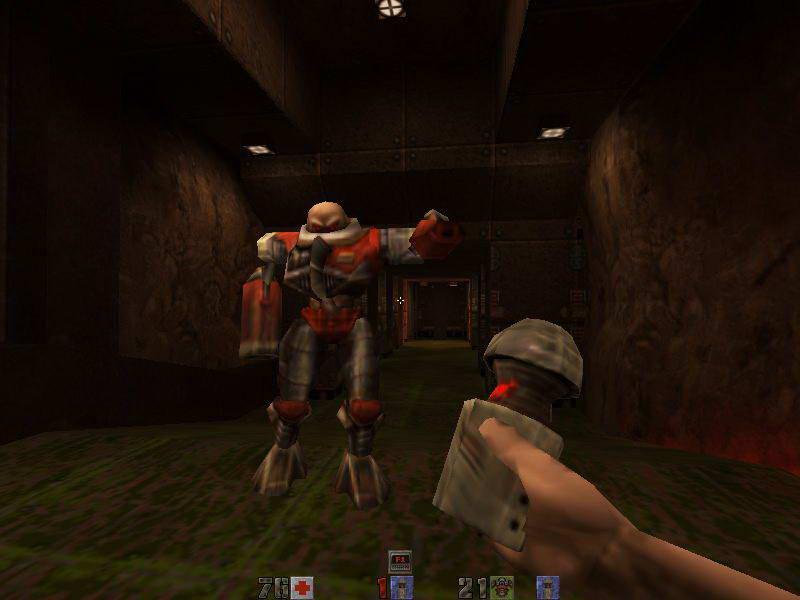 Скриншот Quake II: Ground Zero