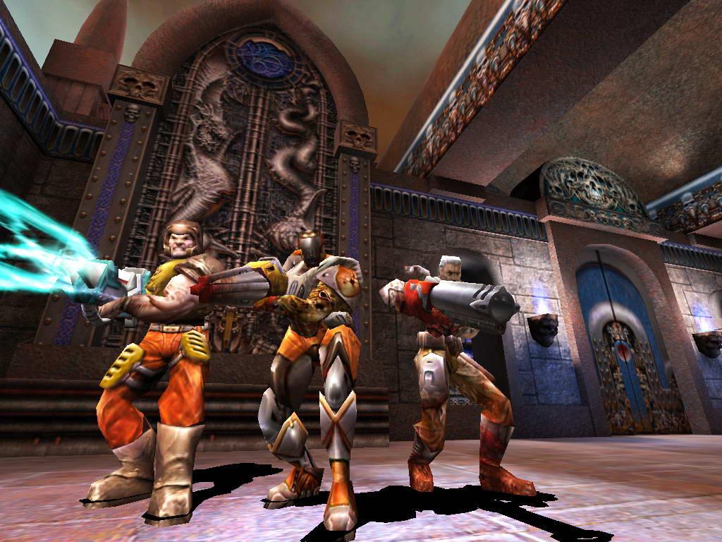 Скриншот Quake: III Arena