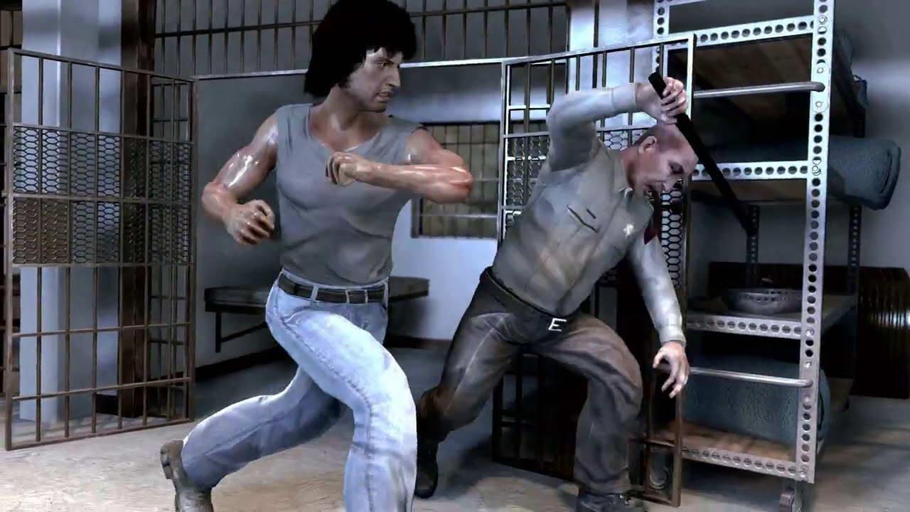 Скриншот Rambo: The Video Game