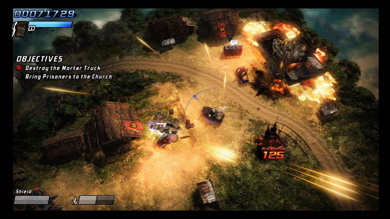 Скриншот Renegade Ops