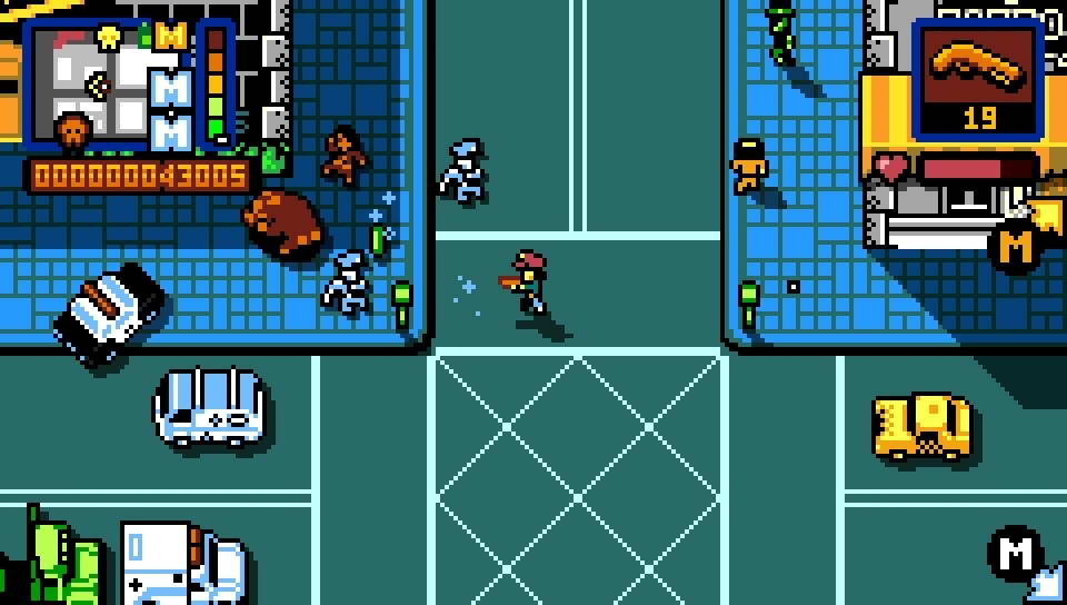 Скриншот Retro City Rampage