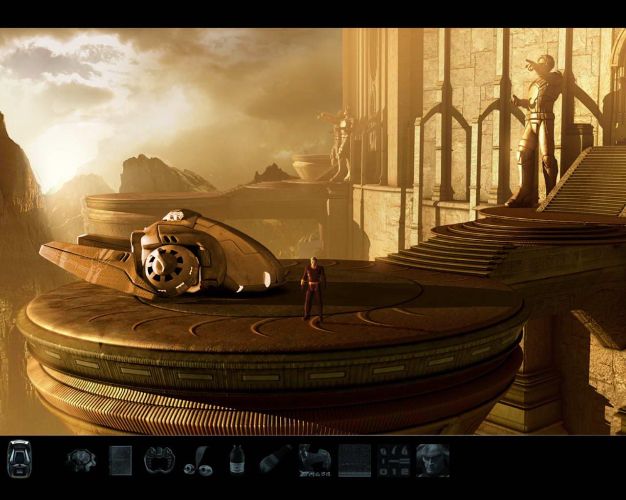 Скриншот Rhodan: Myth of the Illochim