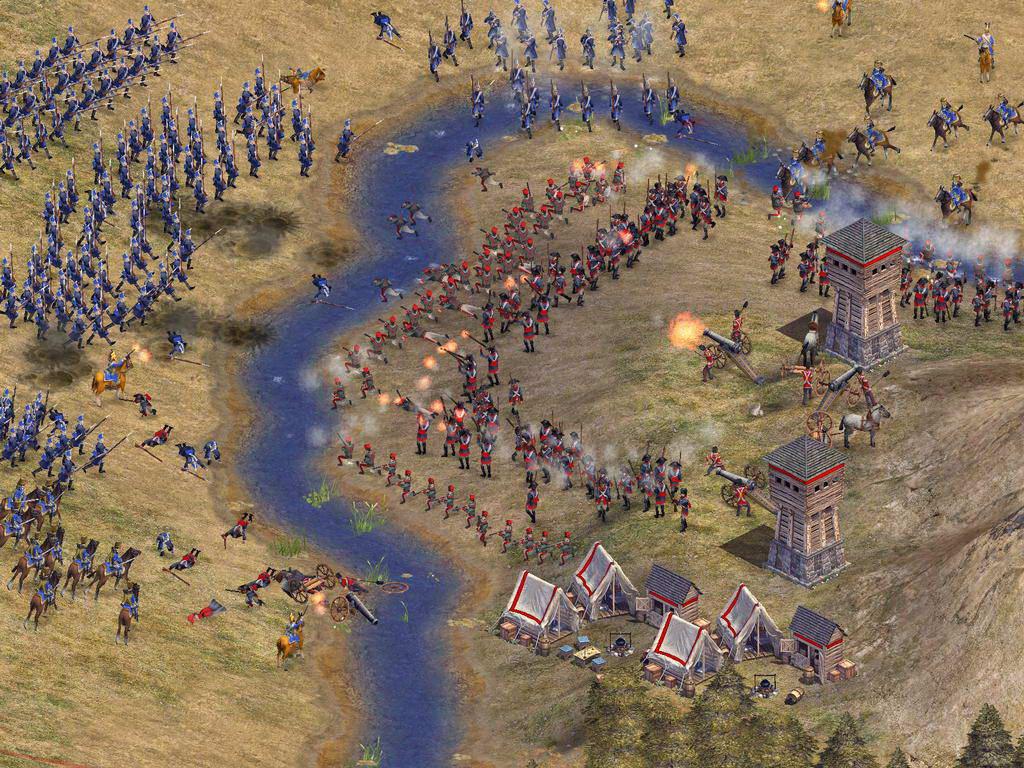 Скриншот Rise of Nations: Thrones & Patriots