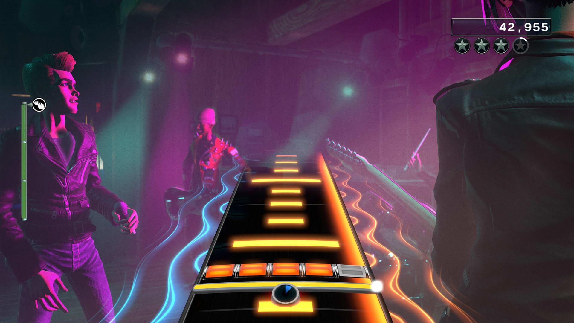 Скриншот Rock Band 4