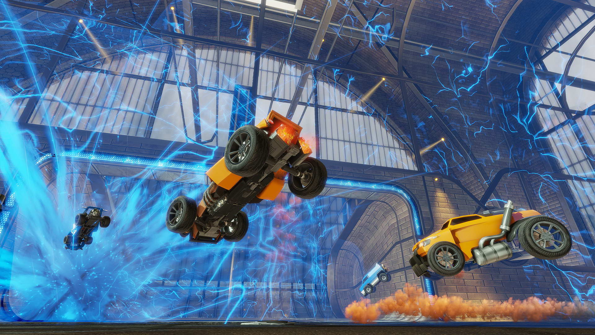 Скриншот Rocket League