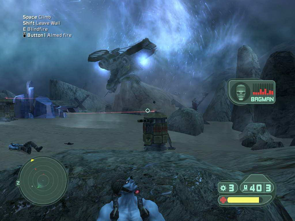 Скриншот Rogue Trooper