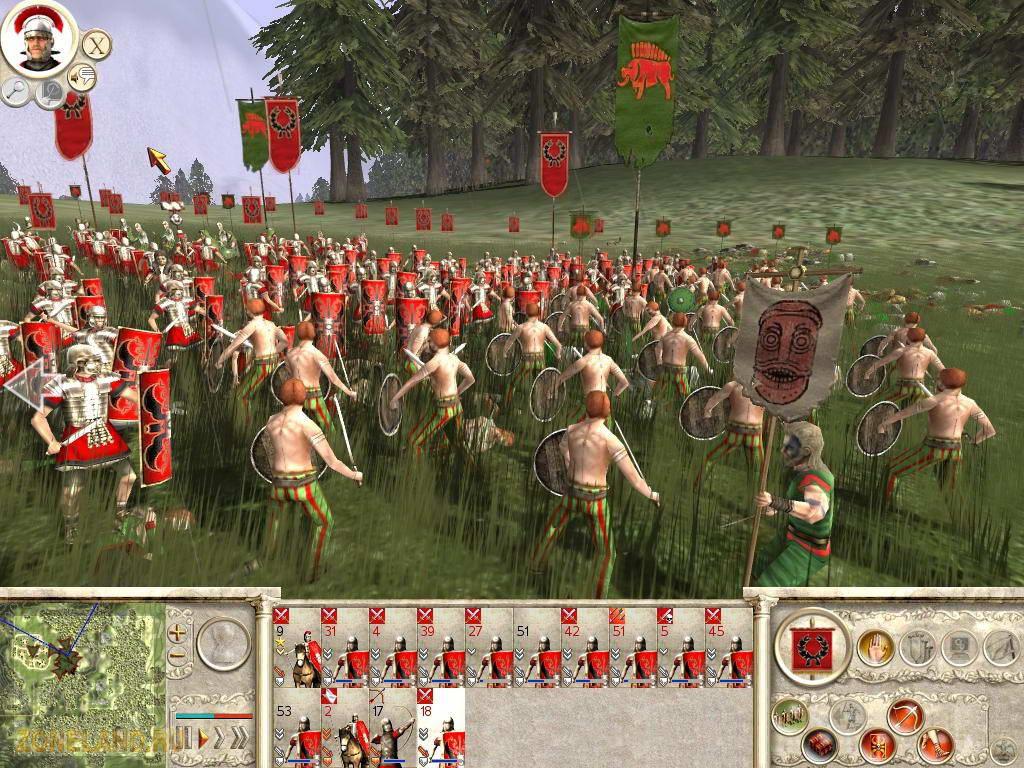 Скриншот Rome: Total War - Barbarian Invasion