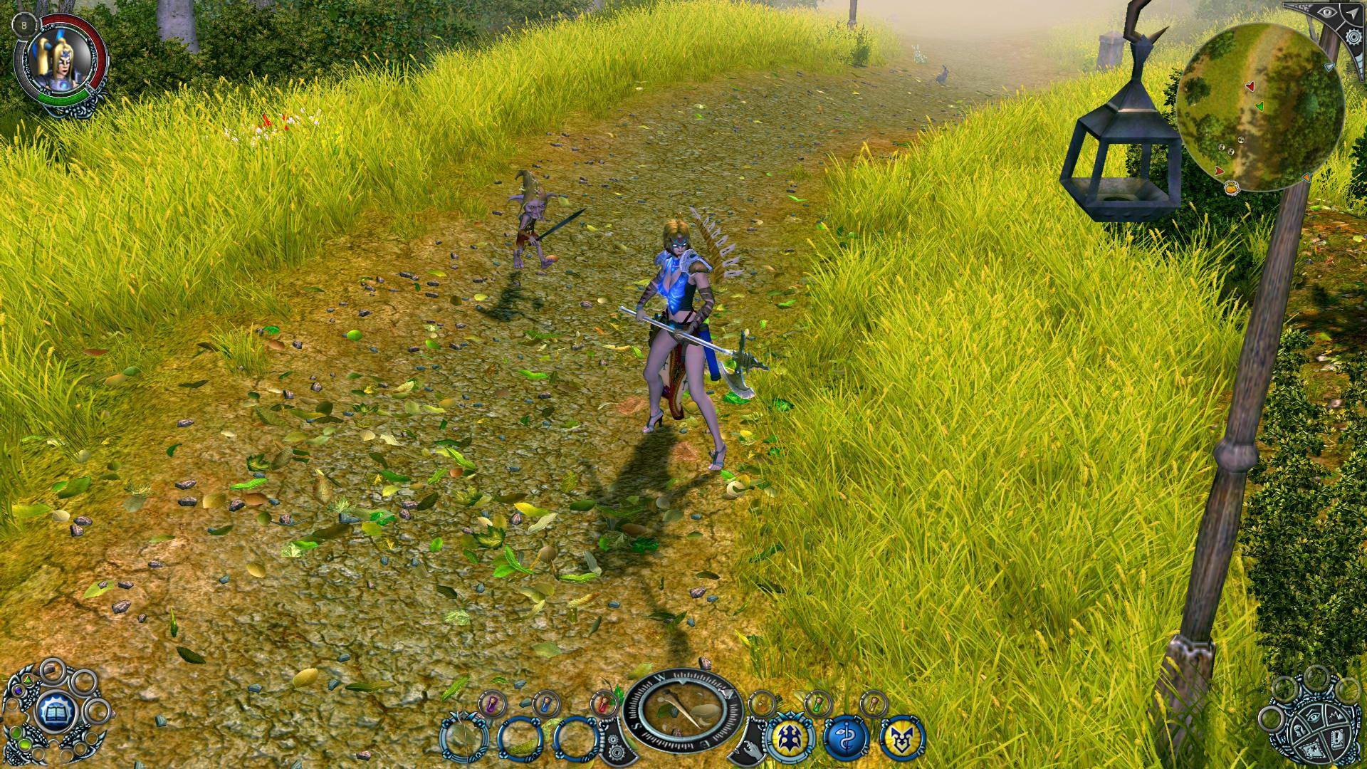 Скриншот Sacred 2: Ice & Blood