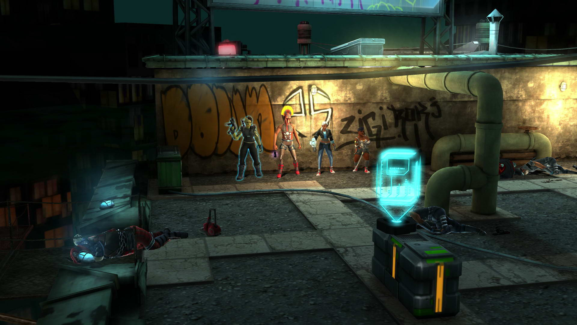 Скриншот Shadowrun Chronicles: Boston Lockdown
