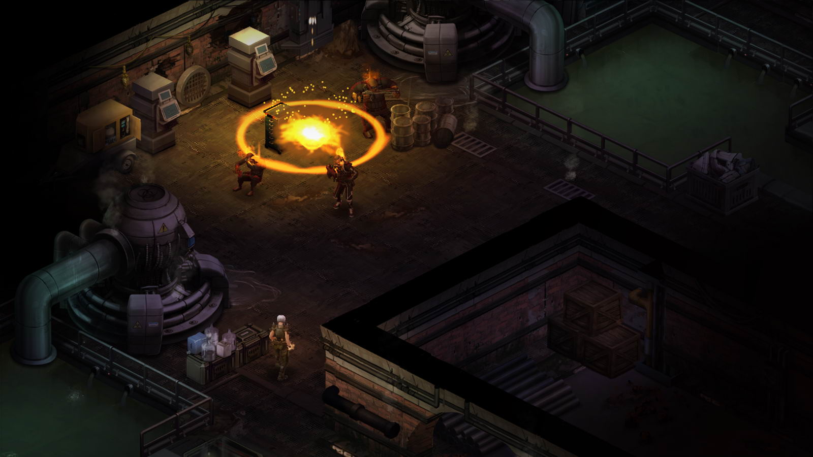 Скриншот Shadowrun Returns: Dragonfall